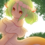 【フローラ】森ブラシを使いたくて(´◉◞౪◟◉)