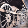 "Dickon Armstrong - ""9F Wheels"" - £750"