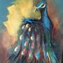 "Rosemary Trodd - Peacock"" - £65"