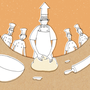 イカスミパンの作り方