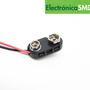 Conector capuchón rigido para batería 9V