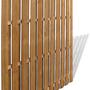 recinzioni in legno impregnato