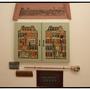 Materialgrafik: Malkasten mit Malstock und Malerutensilien