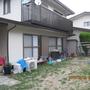 Befor 子供達が遊んだ広いお庭に、今度はお部屋を増築します。