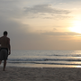 """Für einmal durften wir 2 Stunden am Strand """"relaxen"""""""