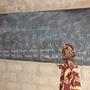 Die Kindergärtner lernen schon früh das Alphabet und die Zahlen