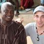 Joni mit Lammin - unserem Koordinator und Hauptlehrer
