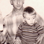 Hermann Michel mit Sohn Hans Dieter Michel