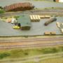 Holzplatz am Sägewerk  der N-Anlage
