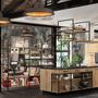 2019-industriel-cuisine-design-bois-metal-fabricant-francais Morel chez cuisine design toulouse