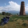 Burana Tower: Unvollendetes Minaret an der Seidenstrasse