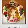 12cmキャラクターケーキ
