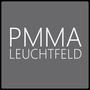 Das Spiegelglas ist in einem hochwertigen satinierten Acrylrahmen ( PMMA ) eingesetzt und dient als Leuchtfeld