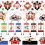 ◆ベクターイラスト(配色まで)+素材塗り加工(質感)◆2016年申年年賀状用イラストカットデザイン素材集(三猿・扇・岩風呂・掛け軸・釣り・祝酒)