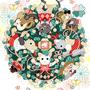 ◆ベクターイラスト(配色まで)+素材塗り加工(質感)◆「幸せコレクション(Happy Collection)」