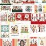 ◆ベクターイラスト(配色まで)+素材塗り加工(質感)◆2016年申年年賀状デザイン個人販売
