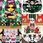 ハンモックパンダ(CorelDRAW Essentials 2019)/ パンダミュージック(CorelDRAW Essentials 2019)/ 猫と夜食パンダ(CorelDRAW Essentials 2019)/ 和室で猫と茶飲みパンダ(Affinity Designer)