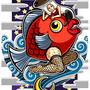 ◆デジタルイラスト色々◆タンノくん&コモロくん(南国少年パプワくん/PAPUWA)※二次創作