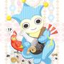 ◆ベクターイラスト(配色まで)+素材塗り加工(質感)◆壺が憎いタイホくんとサユリさん(逆転裁判)※二次創作
