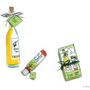 Diverse Give-Aways, Scribble für Präsentation    Technik: Künstlertusche & Fineliner