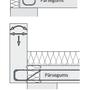 Margām, parapetiem, pieslēgumiem pie vertikālām sienām