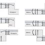 HIT OD/UD mainīga grīdas līmeņa savienojumiem