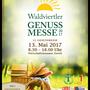 Flyer der Genussmesse in Zwettl :)