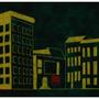 Say Berlin (50x200 cm, acrylic on canvas, 2012)