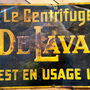 VENDU Enseigne antique De Laval  no. 573