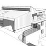 Entwurf Dachaufbau auf Haus aus den 70igern
