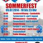 Askania Coepenick Sommerfest 2014 Plakat