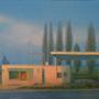 Aufgelassene Tankstelle (Lost Gas Station) 70x100cm, 2000