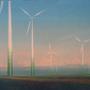 Windpark (Windmllls) 70x50cm