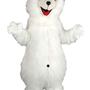 Mascotte Ours polaire Noël