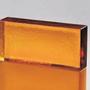 Poesia Colour Mattone Glas Brick Golden Amber 24x12 Vollglasziegel Glasstein Solid Block Briques Blocs de verre Mattoni vetro Glazen stenen blok Glas mursten glas blok brique vidrio Blocos tijolo vidro steklena opeka  üvegtégla staklenu ciglu Bernstein