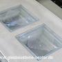 SEVES Hohlbetongläser BG 1919/8 DOTS Sahara 2S Solaris B191 3190 DA España Baldosas Vidro vasos de hormigón baldosas de vidrio Portugal Pavimentos de blocos de vidro óculos de concreto mosaicos de vidro Seves Technology glass blocks, Briques en verre