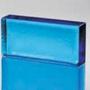 Poesia Colour Mattone Glas Brick Saphir Blue blau 24x12 Vollglasziegel Glasstein Solid Block Briques Blocs de verre Mattoni vetro Glazen stenen blok Glas mursten glas blok brique vidrio Blocos tijolo vidro steklena opeka  üvegtégla staklenu ciglu Bleu