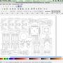 Wenn der Pavillon eine Klappkarte werden soll, muss ich die Bauteile etwas verändern. Inkscape, SVG Datei.
