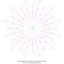 Türchen 8 als Schablone für EPP (PDF Datei für den Plotter oder manuell).