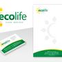 Ecolife Services. Immagine coordinata