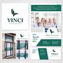 Vinci Assicurazioni. Logo, Advertising, Banner Facebook e Allestimento vetrina