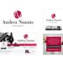 Andrea Nunzio Photographer. Immagine coordinata basic