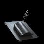 Wywietrznik połaciowy pod gont bitumiczny czarny 9005