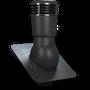 Kominek wentylacyjny izolowany pod gont bitumiczny ∅110 czarny 9005