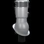 Kominek wentylacyjny izolowany na gont bitumiczny i blachy płaskie ∅110 szary 7046