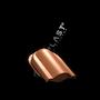 Wywietrznik połaciowy na gont bitumiczny i blachy płaskie ceglasyty 8004