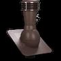 Kominek wentylacyjny nieizolowany pod gont bitumiczny ∅110 brązowy 8017