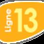 Indice de la ligne 13 à compter du 1 Septembre 2013.