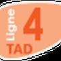 Indice de la ligne 4TAD à compter du 1 Septembre 2013.
