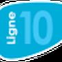 Indice de la ligne 10 à compter du 1 Septembre 2013.
